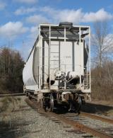 A freight car on a spur on the Eastside railroad