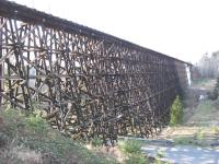 The spectacular Wilburton trestle