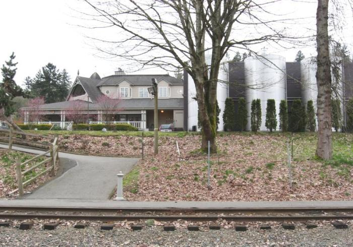 The Columbia Winery on the Redmond branch line